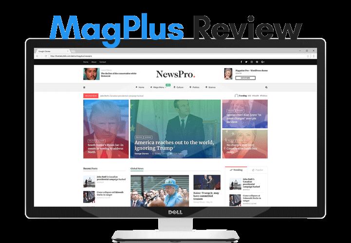 indepth review of magplus wordpress magazine theme