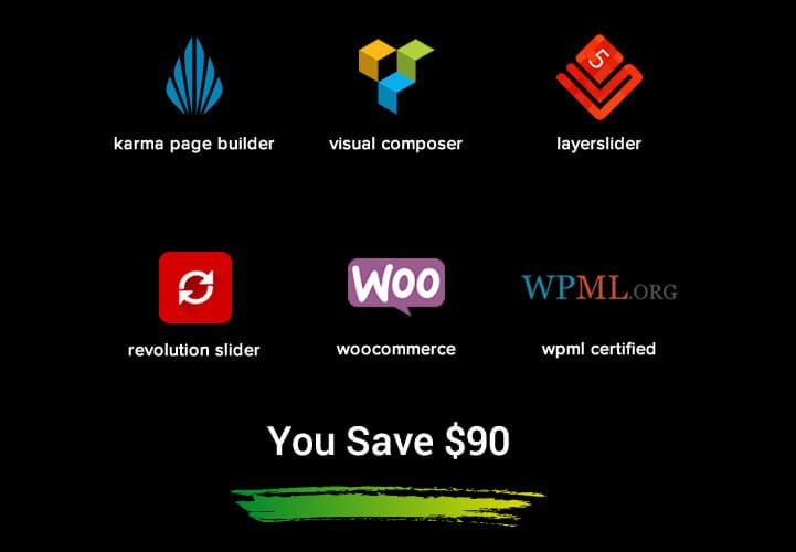 free bundled premium extensions