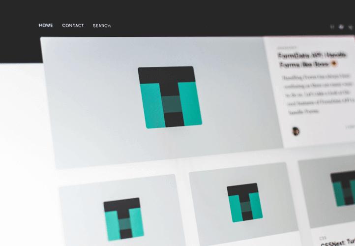 screenshot of wordpress theme development