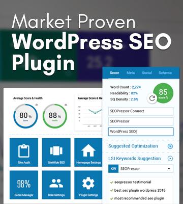 Market Proven WordPress SEO Plugin